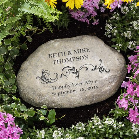 Personalized Garden Stone Gift Ideas Custom Garden Rocks