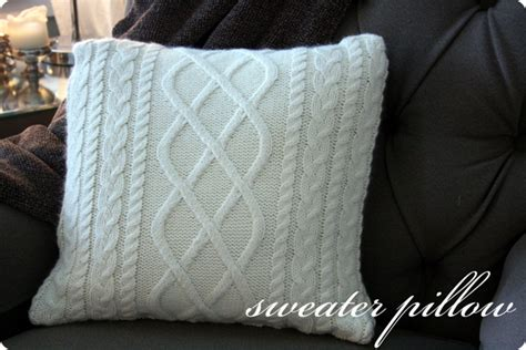 How To Make A Pillow From A Sweater by Sweater Pillow Tutorial Jones Design Company