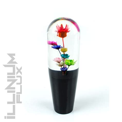 Flower Shift Knob by Multi Color Flower Shift Knob For Automatic Throw Gear