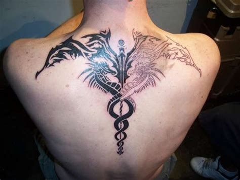 medical tattoos 30 ultimate caduceus ideas