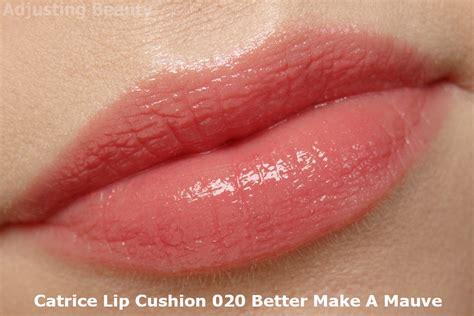Catrice Lipstick Mauve review catrice lip cushion 020 better make a mauve adjusting