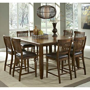 9 counter height dining room sets arlington 9 counter height dining set