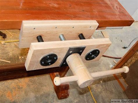 wood vise plans homemade wood vise  plans