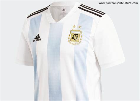 Argentina World Cup 2018 Argentina 2018 World Cup Adidas Home Kit 17 18 Kits