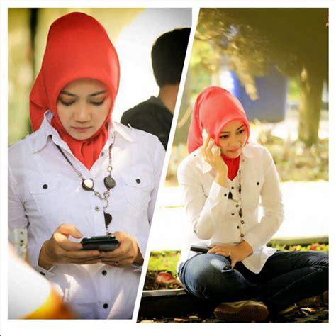 tutorial hijab atalia gaya hijab cantik dan simple ala atalia ridwan kamil