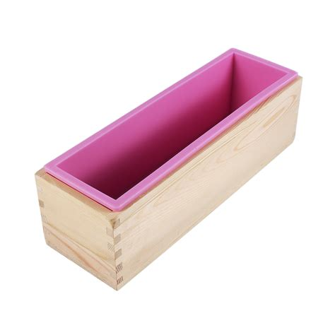 Cake Soap Mold Silicone soap mold silicone loaf baking cookie cake tray candle diy