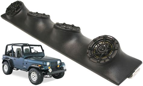 Best Speakers For A Jeep Wrangler Jeep Wrangler Kicker Ds525 Speakers Sound Bar System
