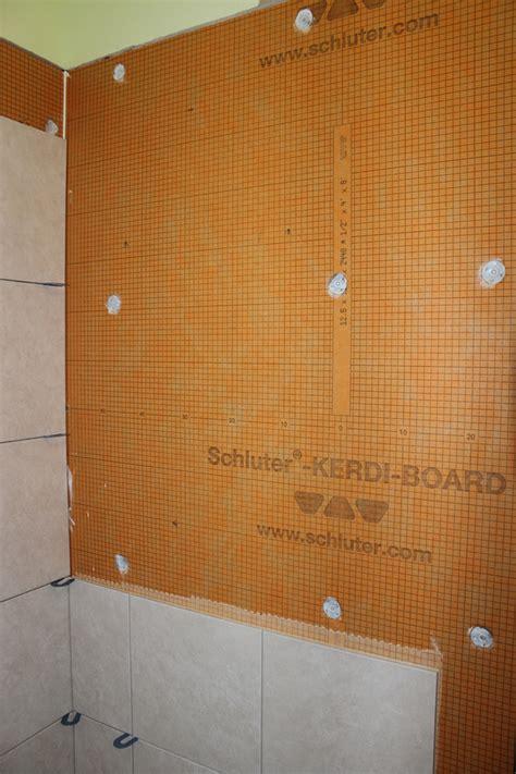 Kerdi Shower Niche by Installing A Kerdi Board Niche