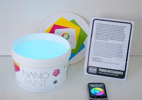 color changing wall paint wallsmart nano paint paint your walls then push the button