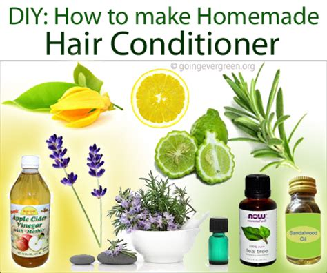 How To Make Handmade Hair - diy how to make hair conditioner going