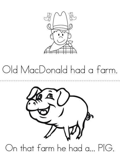 Old MacDonald Book - Twisty Noodle