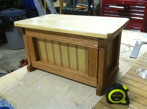 work bench inspired bread box  jessetheradical