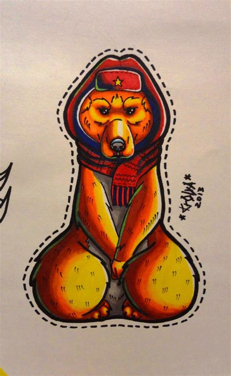 bear tattoo sketch my work tattoo sketch pinterest