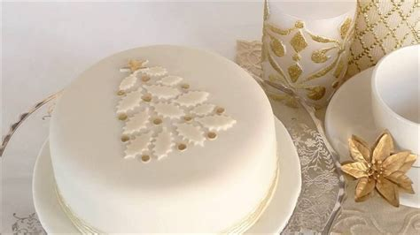 christmas cake decoration ideas cooking