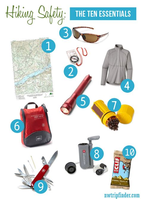top 10 essential things to pack for india breathedreamgo the ten essentials and hiking safety tips northwest