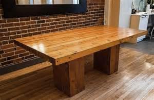 Dining Room Picnic Table douglas fir table laurentide reclaimed lumber
