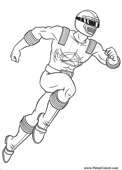 Power Rangers Operation Overdrive Coloring Pages | desenhos para pintar e colorir power rangers imprimir