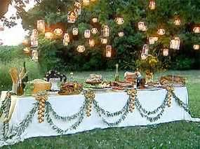 Buffet Service Table Setting Opciones Para Decorar La Mesa Buffet De 15 Chica De 15