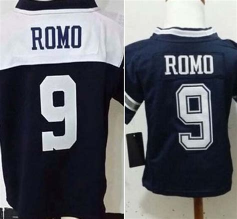 youth blue tony romo 9 jersey attract p 958 toddler baby infant boys football jersey 9 tony romo