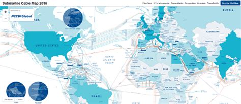 undersea cable map maps mania telegeography s 2016 undersea cable map
