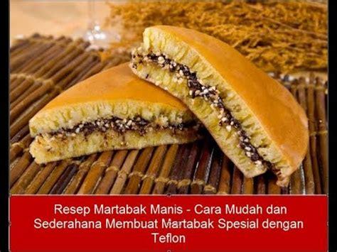 Teflon Martabak Manis Mini resep martabak manis cara mudah dan sederahana membuat