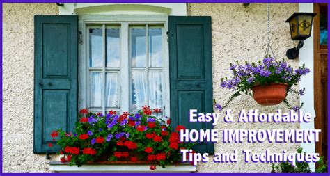 easy and affordable home improvement tips techniques