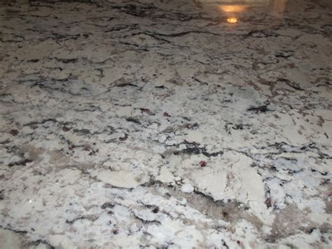 White Sparkle Granite Countertops by The Schorr Thing White Granite And Entry Way Flooring