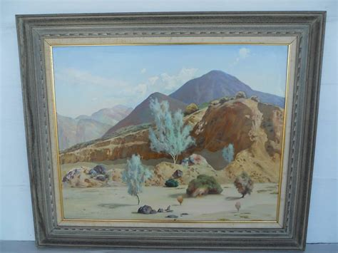 R S Painting by Set Of Two Paintings By R Brownell Mcgrew Signed From