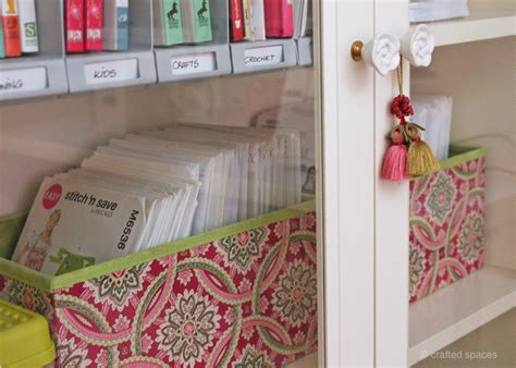 sewing pattern storage crafted spaces pattern storage boxes