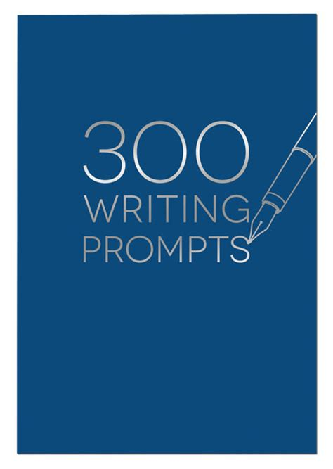 300 writing prompts books guided journals for aspiring writers piccadilly