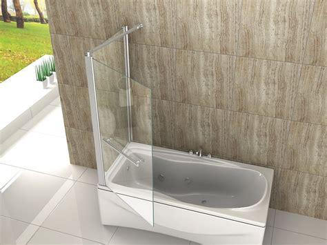 badewanne duschtrennwand eck duschtrennwand oblante 70 badewanne alphabad