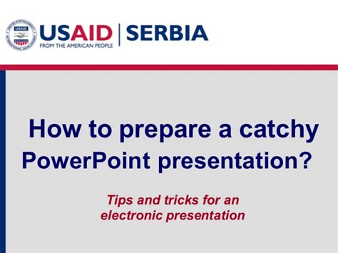 How To Prepare A Catchy Power Point Presentation Catchy Powerpoint Templates