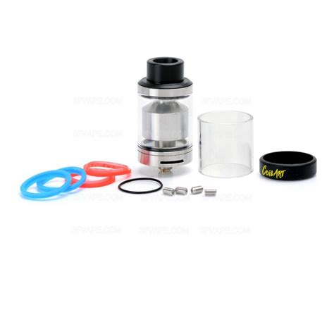 Jual Atomizer Coilart Mage Gta 24mm Authentic Gold Edition Authentic Coilart Mage Gta Silver 3 5ml 24mm Genesis Tank