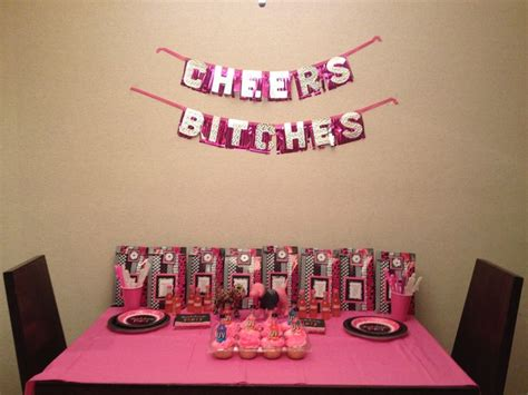 Bachelorette Decoration Ideas by Bachelorette Decor At Hotel Wedding Shower Ideas