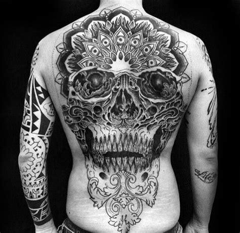 tattoo designs for men on back 40 skull back designs for masculine ink ideas