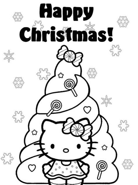 hello kitty merry christmas coloring pages 61 cute hello kitty free coloring pages gianfreda net