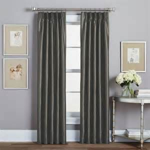 Pinch Pleat Curtain Rods Buy Pinch Pleated Curtains From Bed Bath Amp Beyond