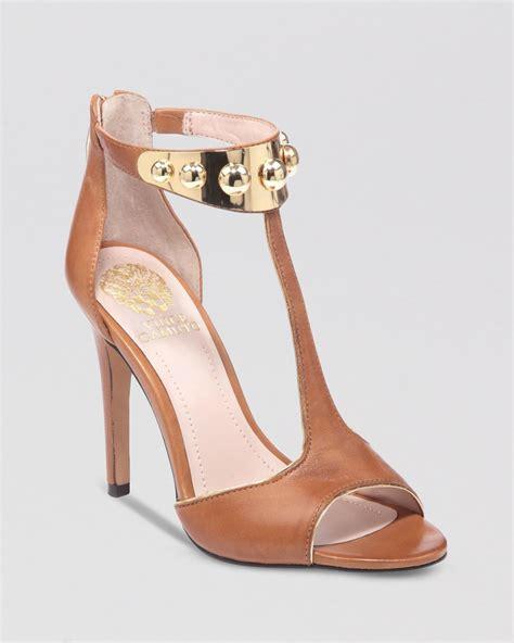 vince camuto high heels vince camuto sandals kelva high heel in gold beachwood