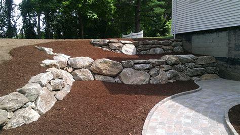 Rock Gartengestaltung by Rock Retaining Wall Retaining Walls G 228 Rten