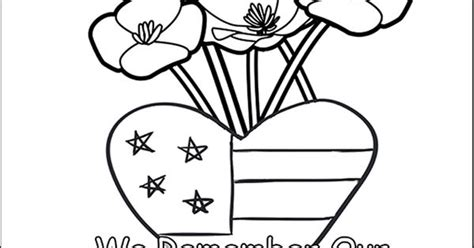 memorial day coloring page card ultimate homeschool