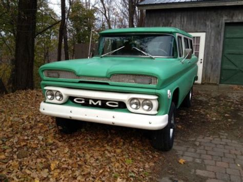 1960 gmc suburban buy used 1960 gmc suburban carryall factory 4x4 k1001 in