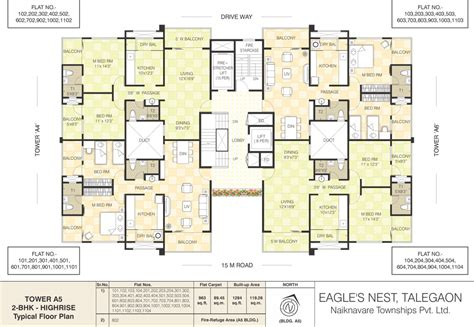 2 bhk apartment floor plans floor plans of row houses in talegaon at eagle s nest are
