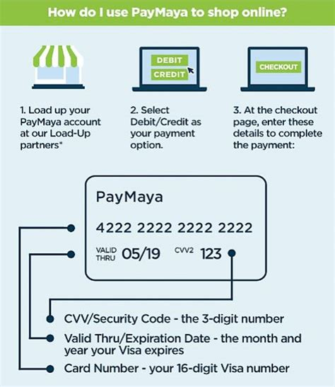 Can You Buy Things Online With A Visa Gift Card - how to use paymaya to pay online paymaya stories