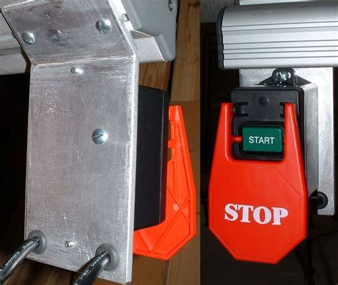 ridgid table saw power switch ridgid ts3660 3650 power switch upgrade by