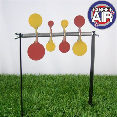 printable plinking targets hft practice four double spinners spike set 15 20 25 30
