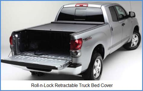 roll lock bed cover roll n lock makes technologically advanced retractable