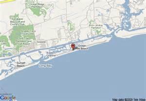 map of isle carolina map