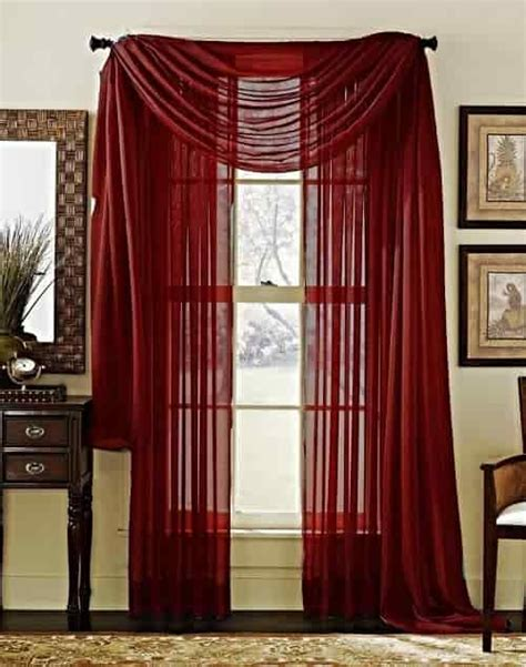 burgundy living room curtains 15 impressive burgundy curtains for living room to buy