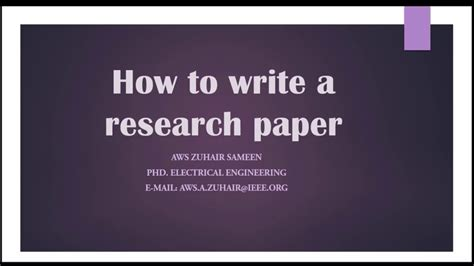 how to write a paper with citations 9 how to write a research paper acknowledgement