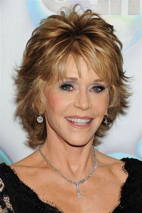 how cut womens hair short shag jane fonda short shaggy hairstyles new short hair https